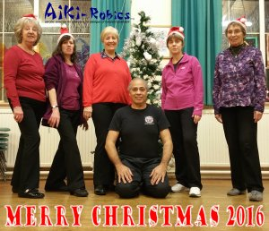 Aiki-Robics with Adrian at Earlsfield Baptist Church London SW18